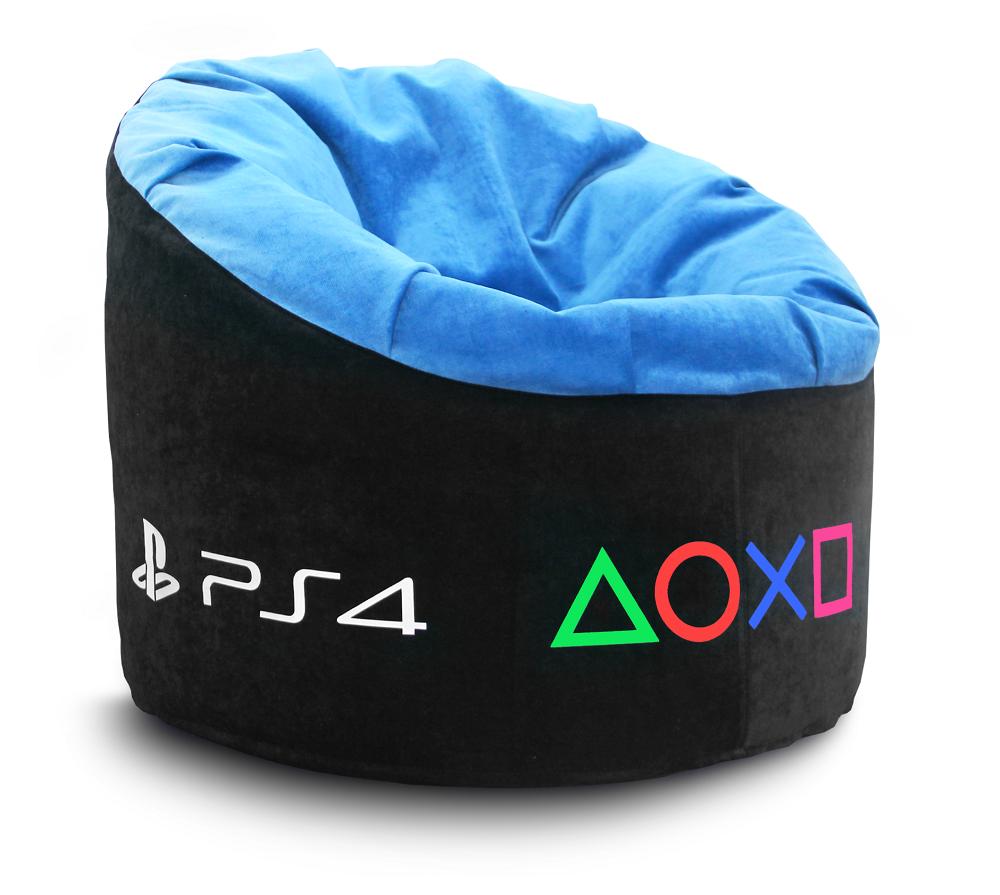 Кресло Папасан Sony PS4 - Велюр (90x90x40)