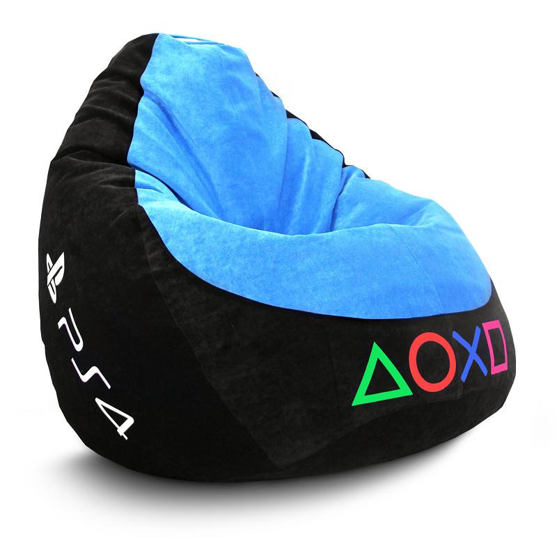 Кресло Груша Sony PS4 - Велюр (XXXL)