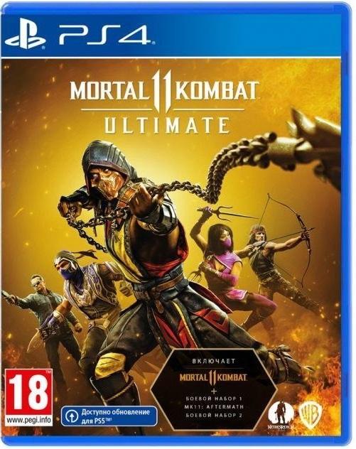Mortal Kombat 11 Ultimate Edition (Русские субтитры)