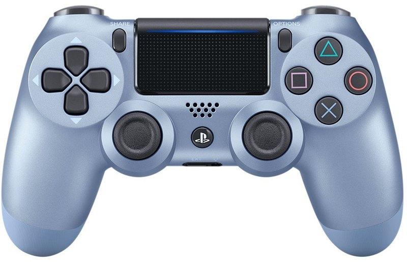 Sony Dualshock 4 (V.2) Titanium Blue (Официальный)