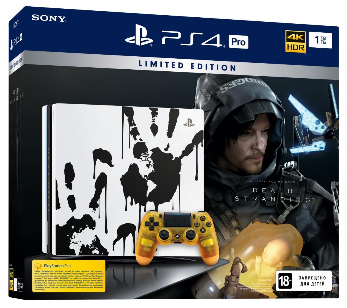 Sony PlayStation 4 Pro 1Tb Black (Death Stranding) Limited Edition