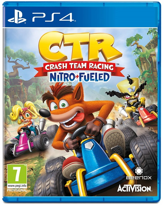 Crash Team Racing Nitro-Fueled (Анг. версия)