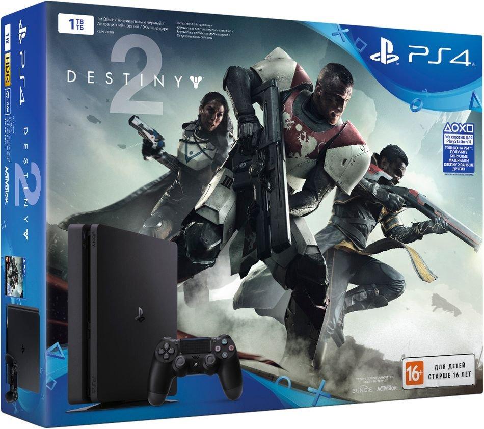 Sony Playstation 4 Slim 1Tb + Destiny 2