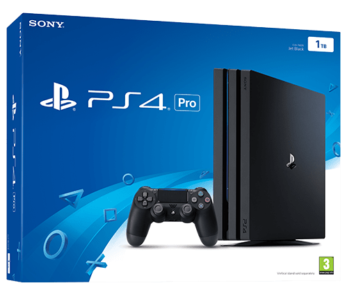 Sony Playstation 4 PRO 1TB Black (CUH-7108B)