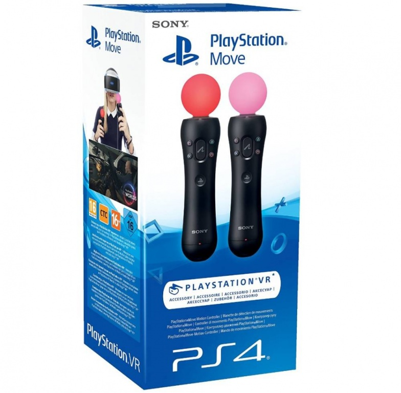 Набор Playstation Move для PS VR
