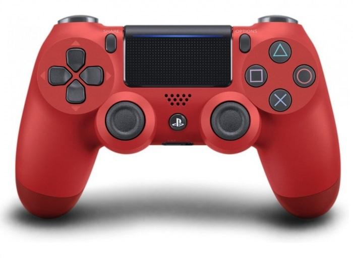Sony DUALSHOCK 4 (V.2) Magma Red / Красный (Официальный)