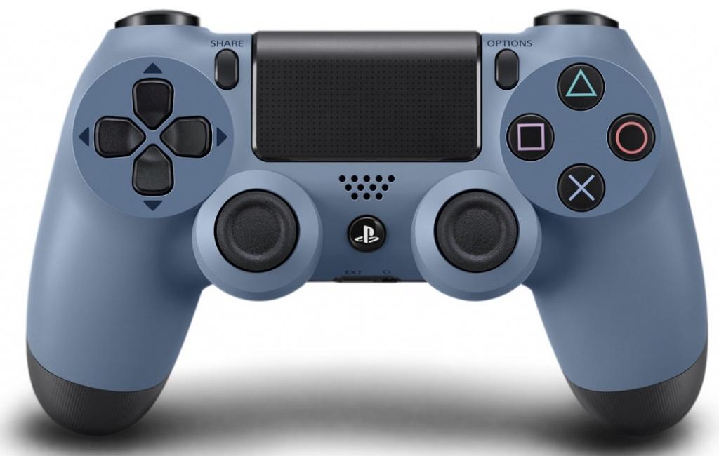 Джойстик беспроводной Sony DUALSHOCK 4 Gray Blue