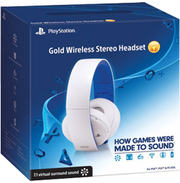 Наушники Gold Wireless Stereo Headset Glacier White