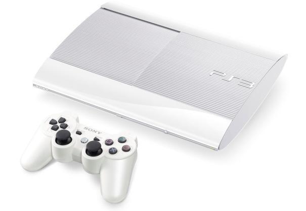 Sony Playstation 3 Super Slim 500 GB White