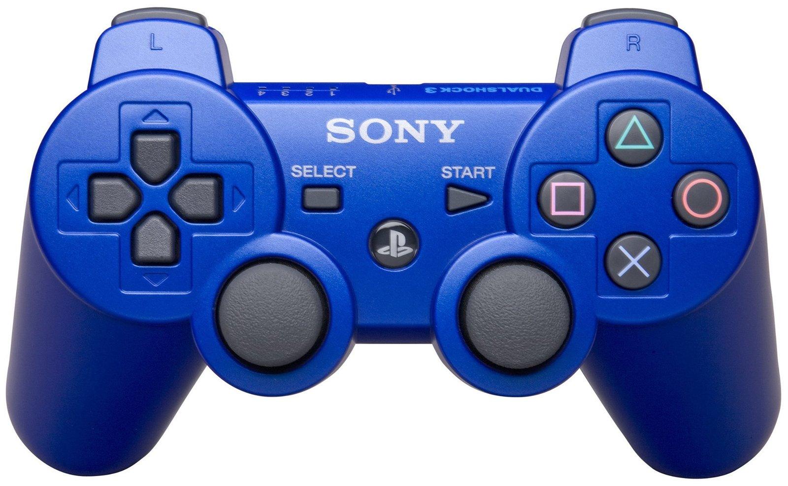 Джойстик Sony SIXAXIS Dualshock 3 Синий (Оригинал)