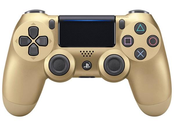 Джойстик беспроводной Sony DUALSHOCK 4 (V.2) GOLD