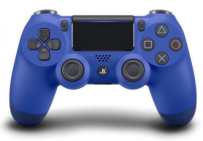 Джойстик беспроводной Sony DUALSHOCK 4 (V.2) Wave Blue