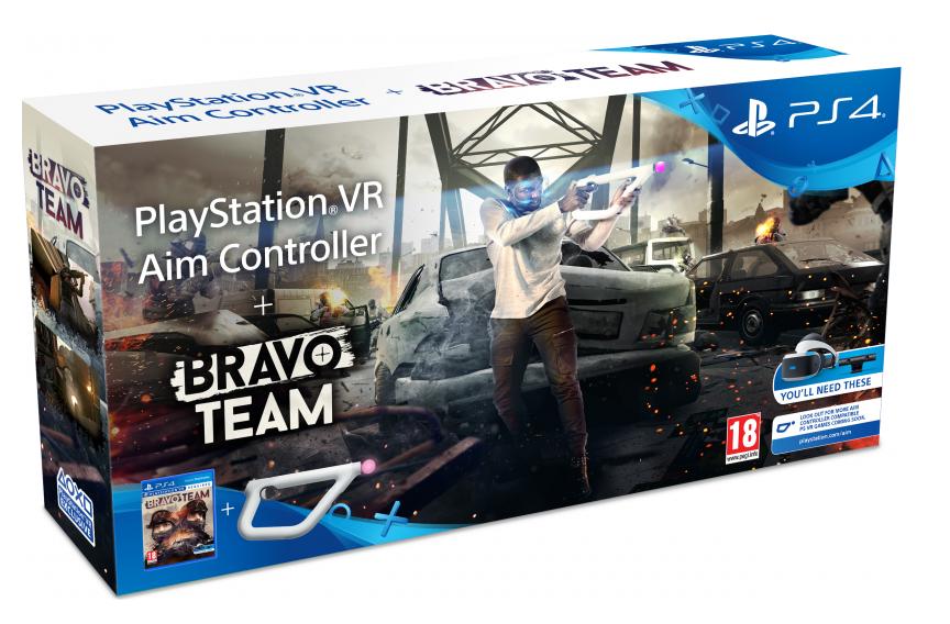 Контроллер Aim Controller + Bravo Team (PS VR)