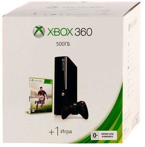 Microsoft Xbox 360 Slim E 500 Gb