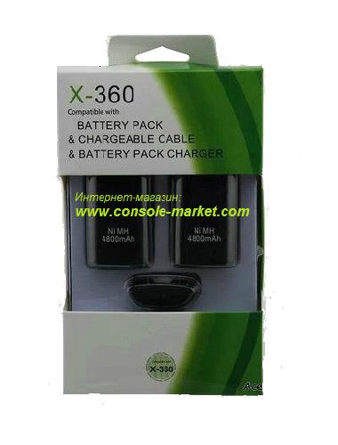Зарядное устройство (3в1) Xbox 360 Оригинальный