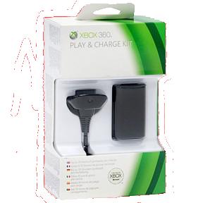 Зарядное устройство (2в1) Xbox 360 Оригинальный