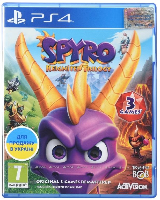 Spyro Reignited Trilogy (Английская версия)