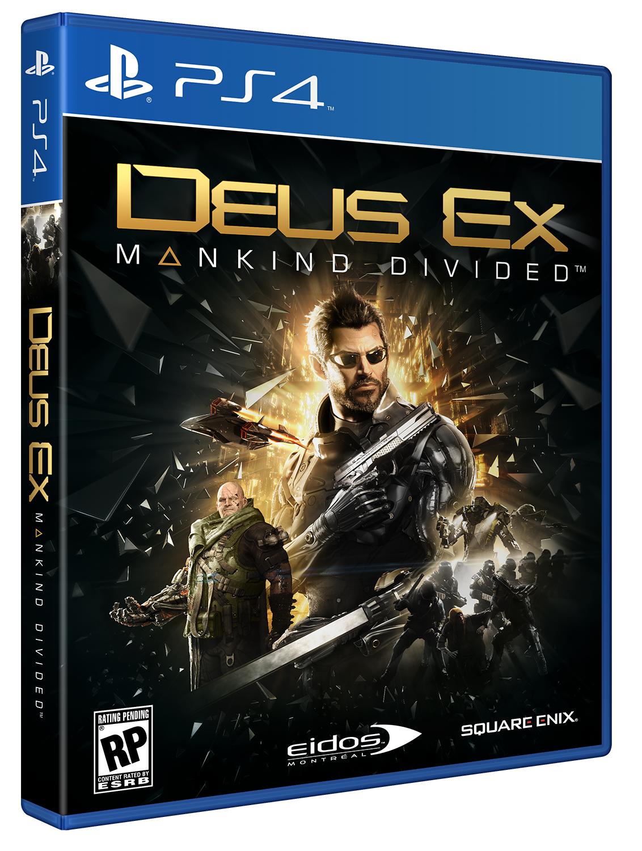 Deus Ex: Mankind Divide (Б/У) (Русская версия)
