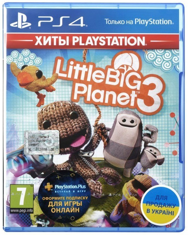 LittleBigPlanet 3 (Русская версия)