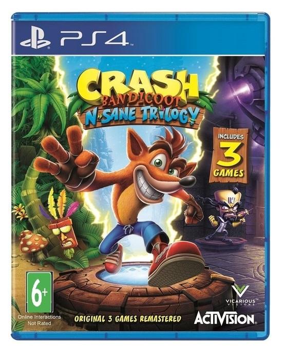 Crash Bandicoot Nsane Trilogy (Русская версия)
