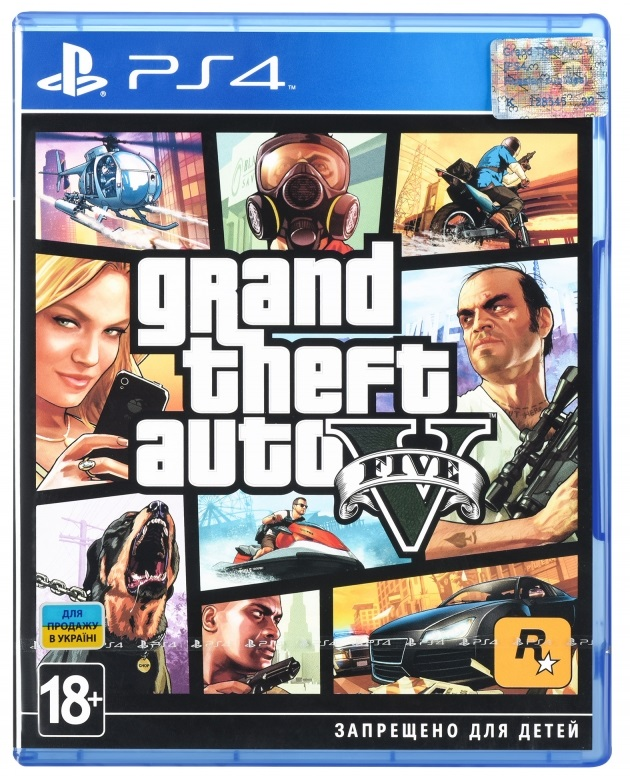 Grand Theft Auto V (Русская версия)