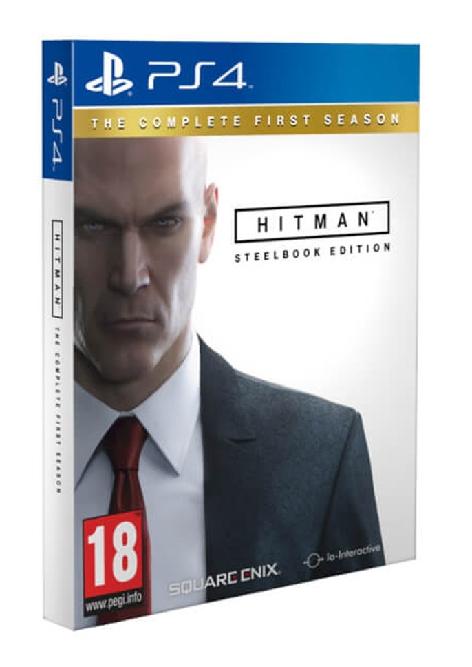 Hitman: The Complete First Season Steelbook Edition (Рус.версия)
