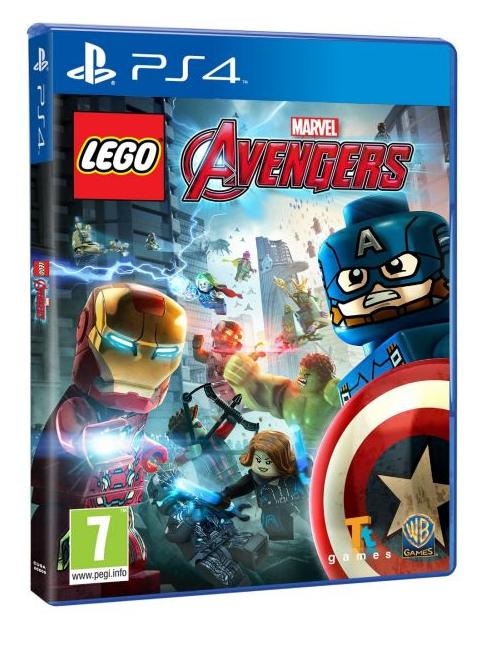 LEGO Marvel Мстители (Русская версия)