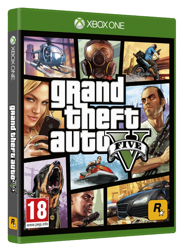 Grand Theft Auto V (Диск)