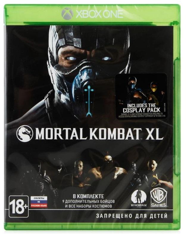 Mortal Kombat XL (Диск)