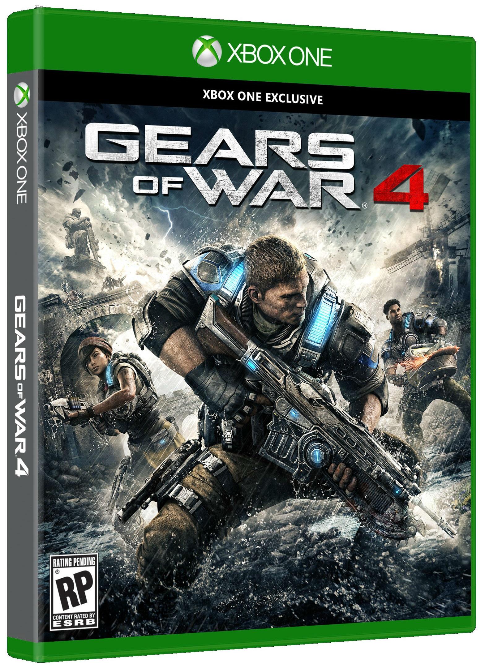 Gears of War 4 (Диск) Русская версия