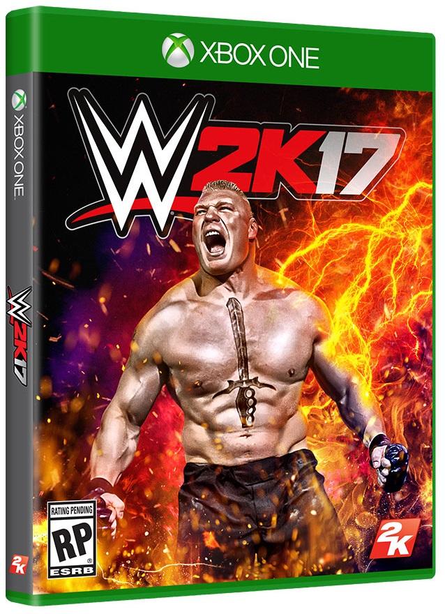 WWE 2K17 (Диск) Русская версия