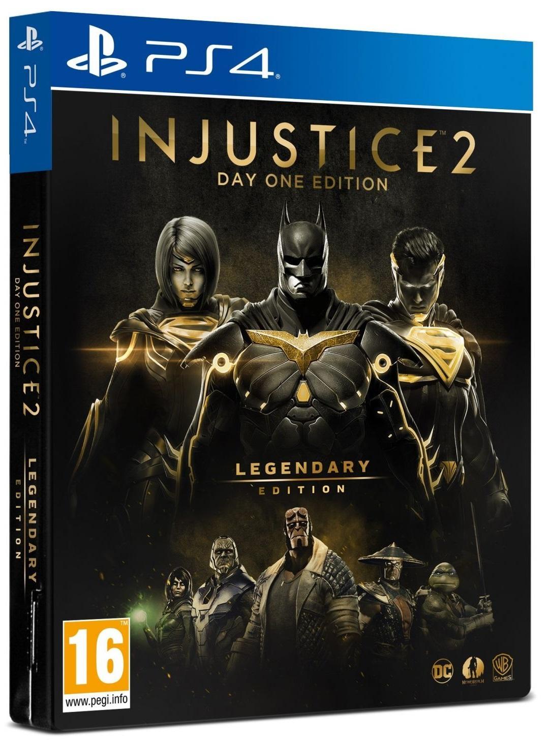 Injustice 2. Legendary Edition (Steelbook) (Русская версия)