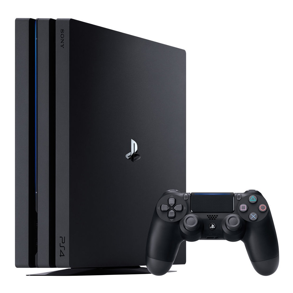 Sony Playstation 4 PRO 1TB Black   (CUH 7208B)