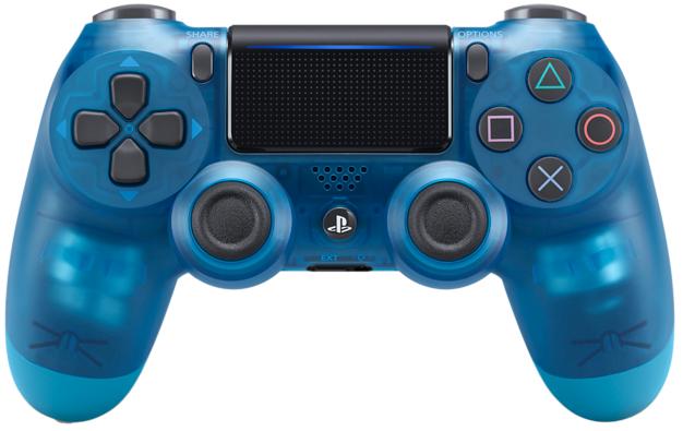 Sony DUALSHOCK 4 (V.2) Crystal Blue (Официальный)