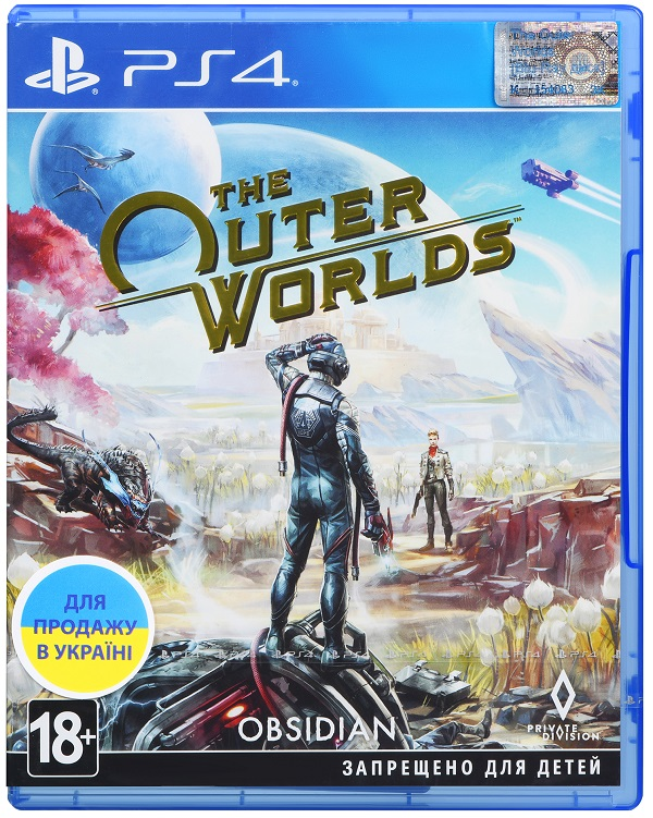 The Outer Worlds (Русские субтитры) (Б/У)