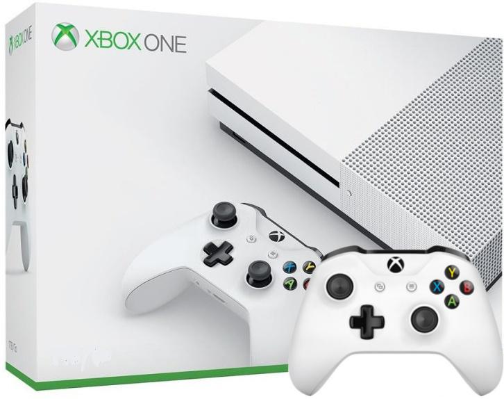 Microsoft Xbox One S 1TB Доп.джойстик (Гарантия 18 мес.)