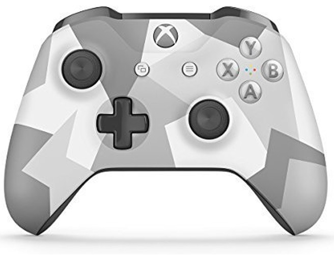 Xbox One S with Bluetooth (Winter Forces)