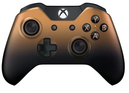Джойстик Microsoft Wireless Controller Limited Edition Copper Shadow