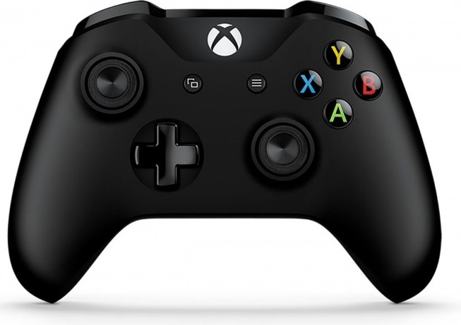 Xbox One S Wireless Controller (Black) with Bluetooth