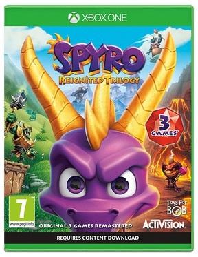 Spyro Reignited Trilogy (Диск)
