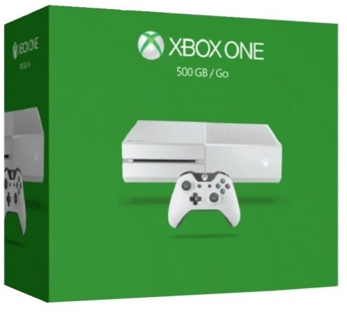 Microsoft Xbox One 500 GB White (Гарантия 18 мес.)